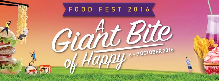 'A Giant Bite of Happy' Food Fest @ the Curve, Mutiara Damansara