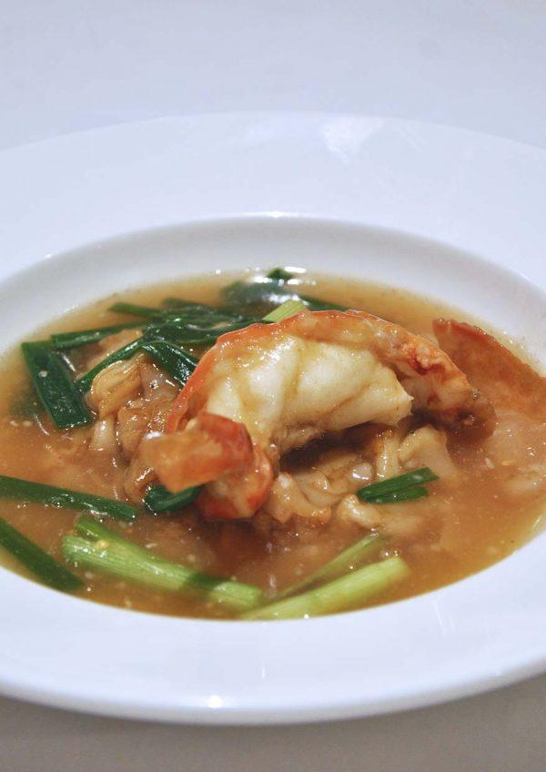 dynasty restaurant renaissance kuala lumpur hotel migf 2016 king prawn flat noodles