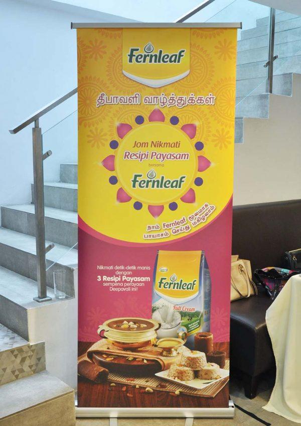 fernleaf milk malaysia payasam dessert deepavali banner