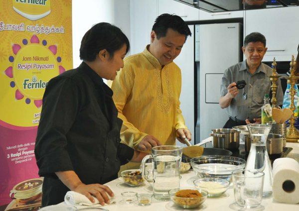 fernleaf milk malaysia payasam dessert deepavali chef annette isaac