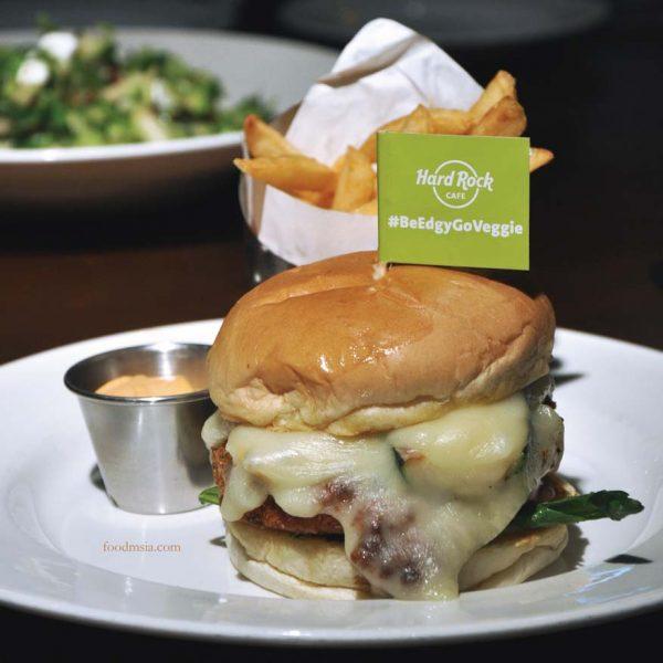 hard rock cafe malaysia vegetarian menu cauliflower burger