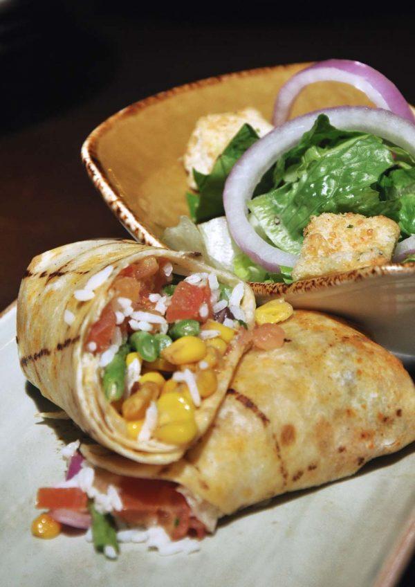 hard rock cafe malaysia vegetarian menu grilled ratatouille wrap
