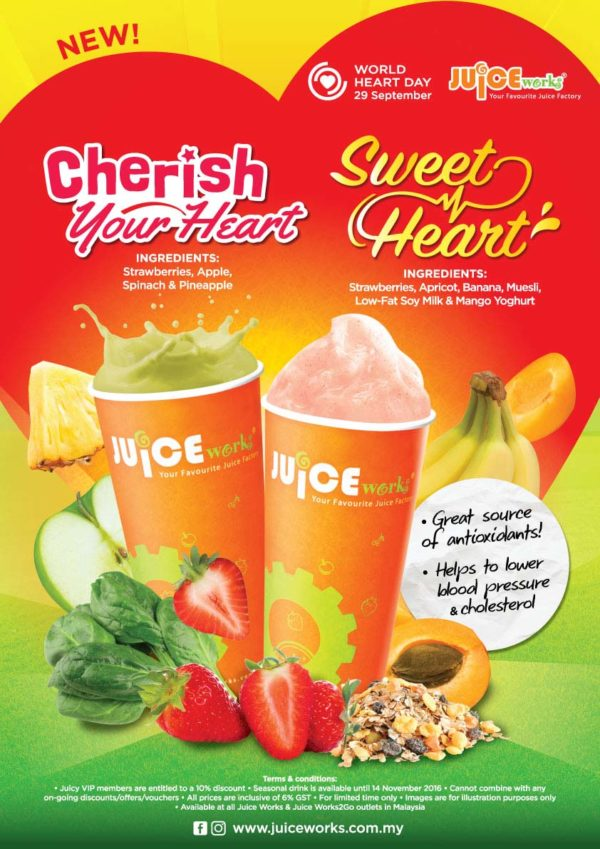 The Fresh Way To Fight Cancer @ Juice Works Malaysia