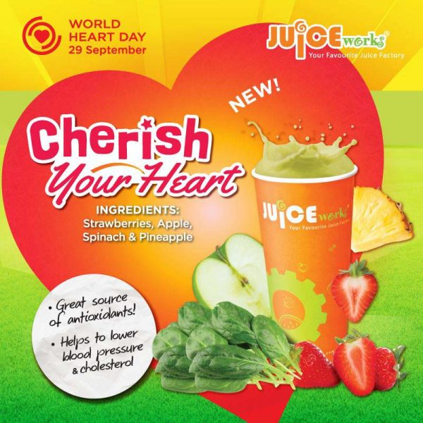 juice works malaysia world heart day cherish your heart