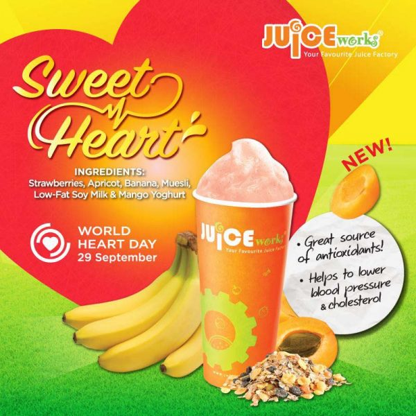 juice works malaysia world heart day sweet heart