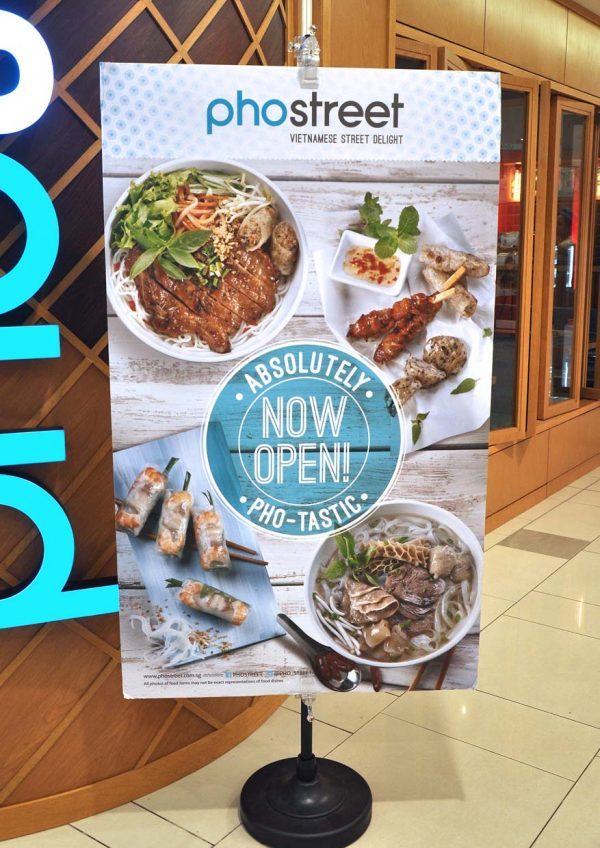 pho street vietnamese food paradigm mall petaling jaya