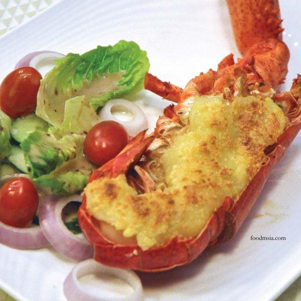 unique seafood pj23 malaysia international gastronomy festival baked boston lobster