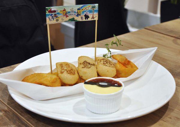 1st pokemon cafe malaysia aeon mid valley kuala lumpur fried potato