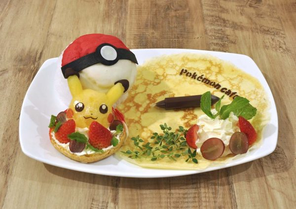 1st pokemon cafe malaysia aeon mid valley kuala lumpur pokeball cream puff