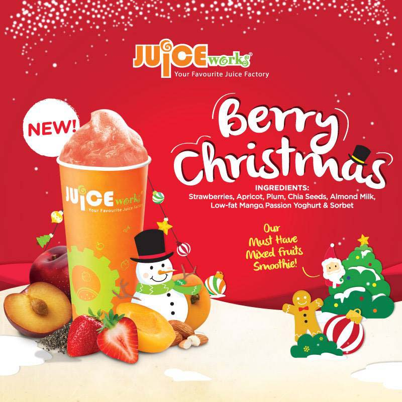Berry Christmas – Delicious Dieting For Diabetes @ Juice Works Malaysia