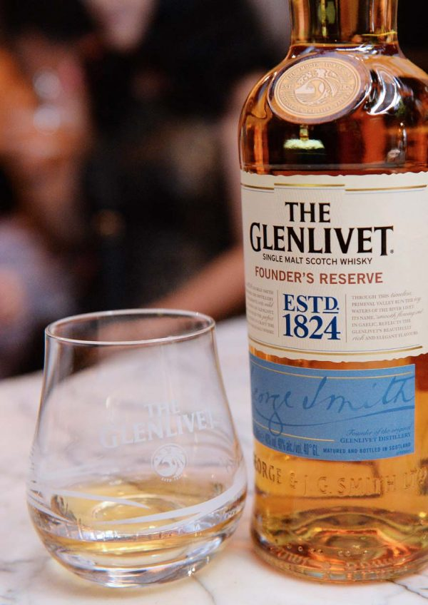founder reserve george smith the glenlivet single malt whisky