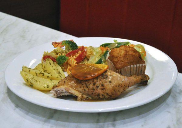 kenny rogers roasters fun fruity feast chicken meal