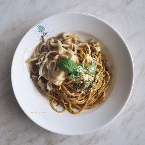 la figue western restaurant pv128 setapak kuala lumpur aglio olio tofu steak
