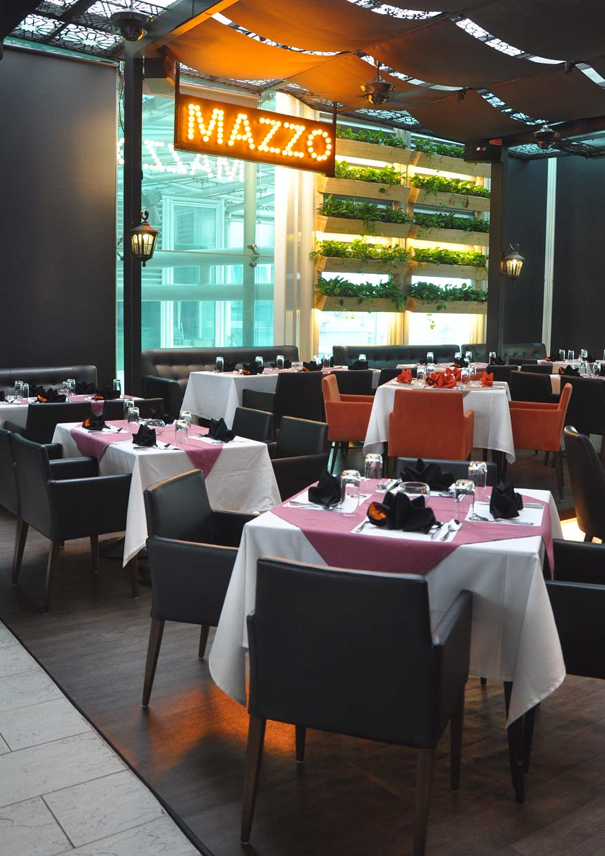 Exquisite fusion of korean japanese italian fine dishes for Cafe mazzo