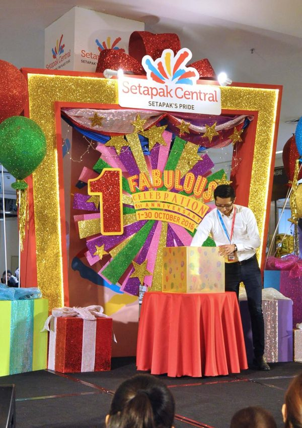setapak central 1 fabulous celebration first anniversary live draw
