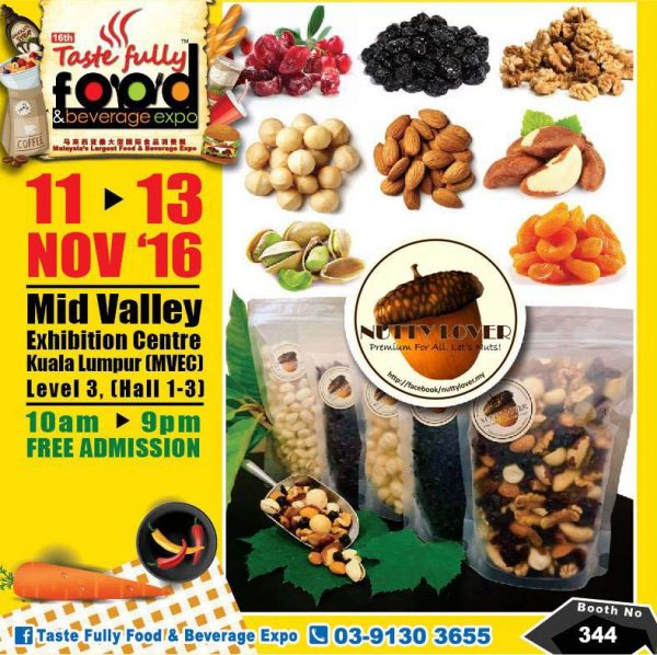 taste-fully-food-and-beverage-expo-mid-valley-kl-november-2016-nutty-lover
