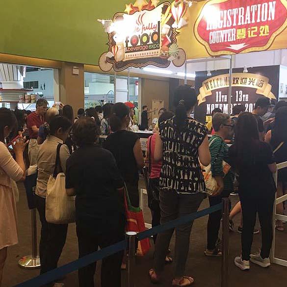 taste fully food and beverage expo mid valley kl november 2016 visitors