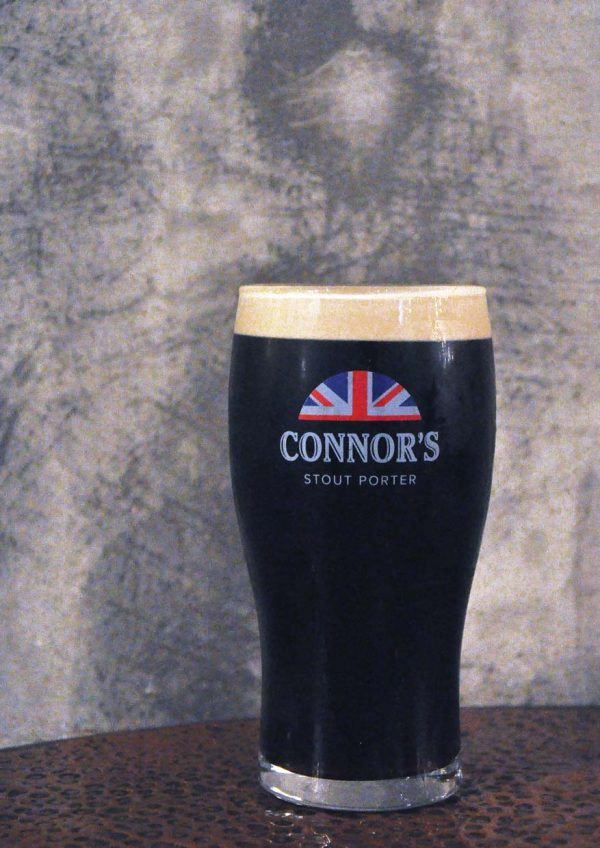 the x bangsar the connor's experience by connor's stout porter full pint