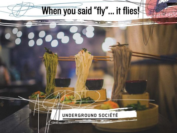 underground societe bandar sunway flying noodles