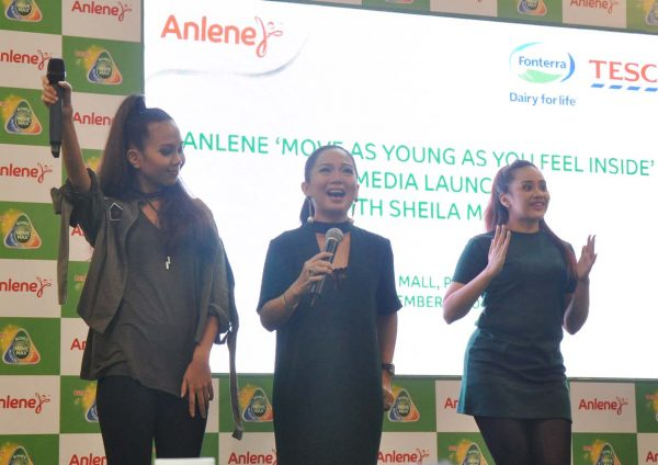 anlene move young campaign sheila majid sinaran remake duet