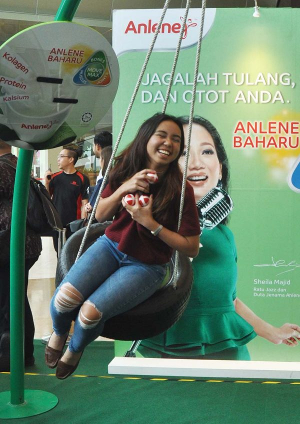 anlene move young campaign sheila majid sinaran remake exercise