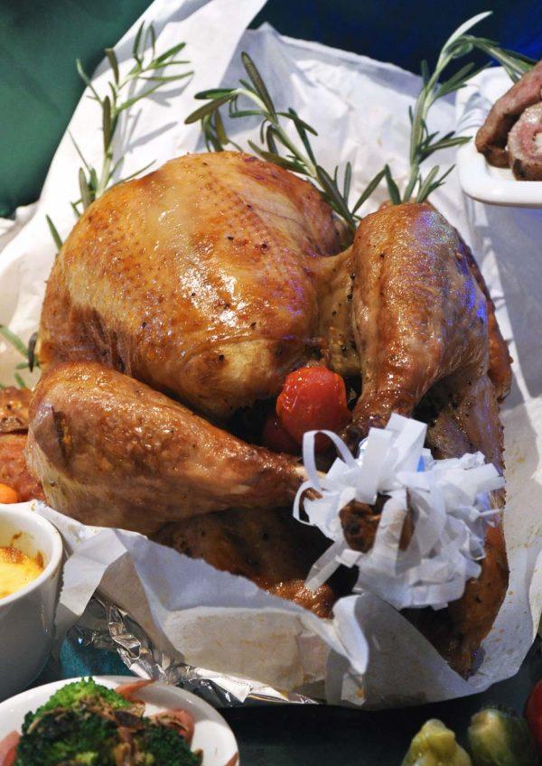 christmas 2016 armada petaling jaya roasted tom turkey with chestnut