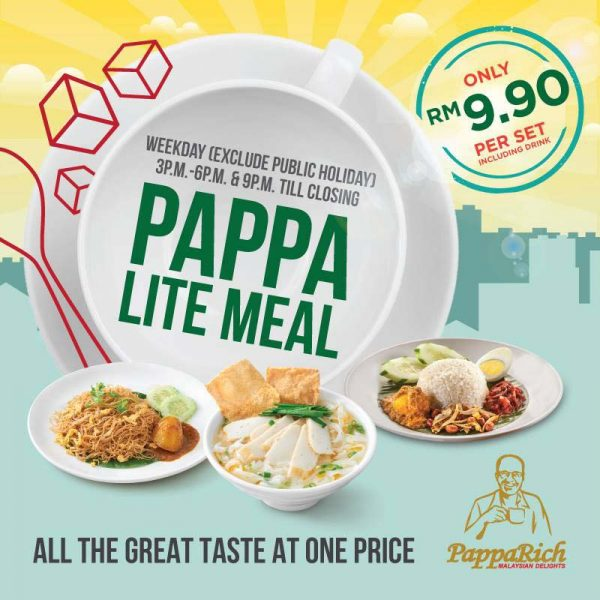 pappa lite meal papparich malaysia promotion