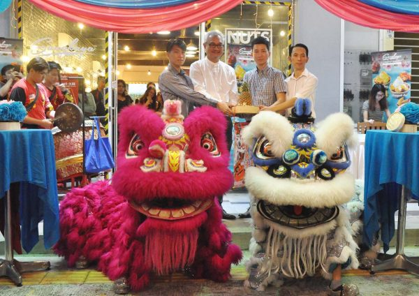 sangkaya abundance chinese new year 2017 lion dance