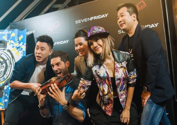 SevenFriday Q-Series Garage Party Launch