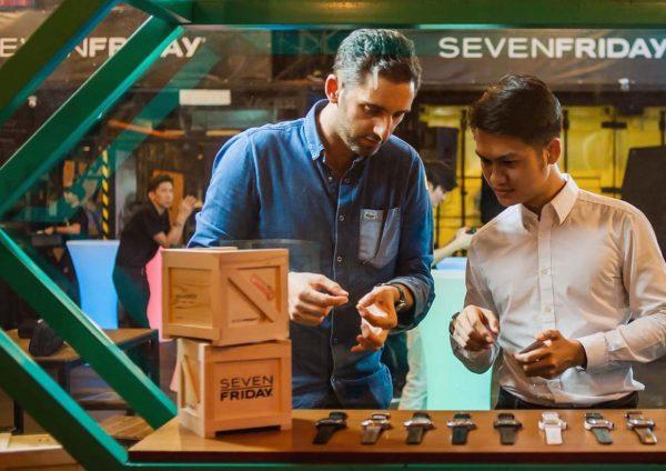 sevenfriday q-series garage party kuala lumpur rocco giudice