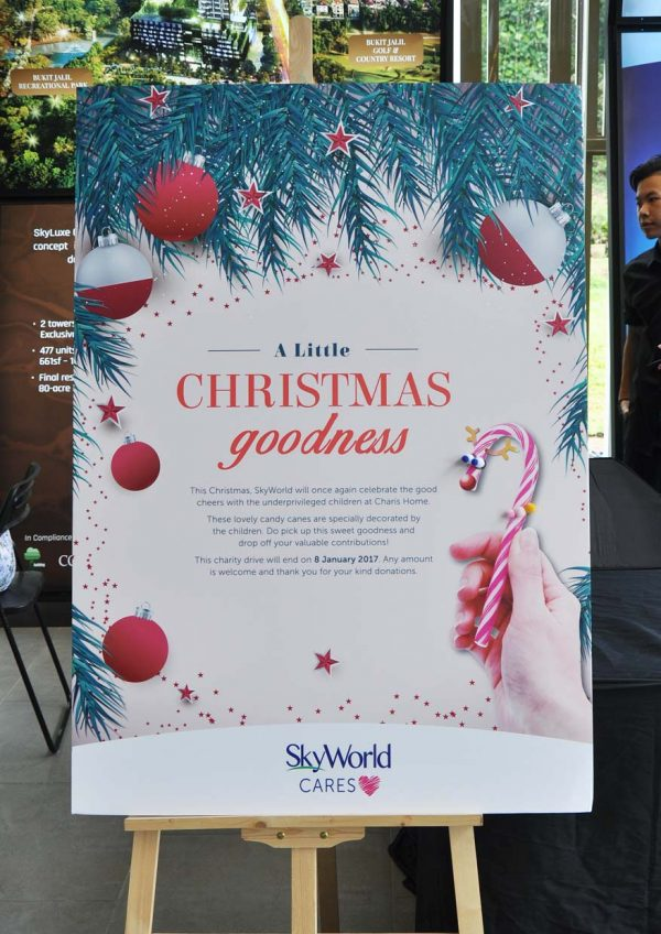 skyworld skyluxe on the park bukit jalil seoul-ful christmas carnival candy cane charity drive