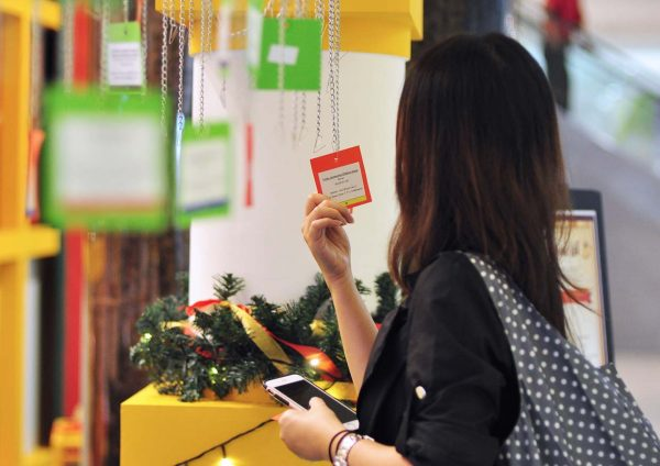 toy bank a gift of love 2016 cheras leisuremall wish card