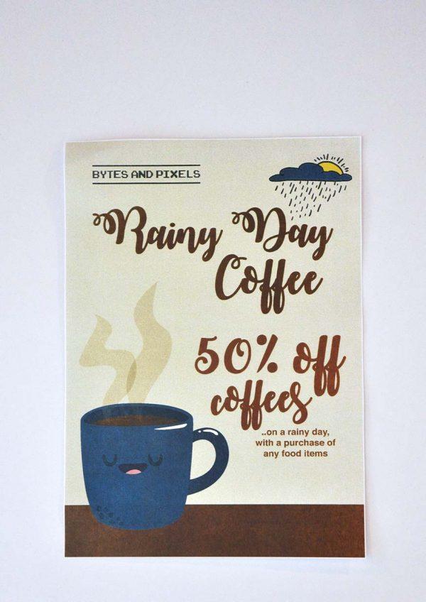 bytes and pixels bandar sunway rainy day coffee
