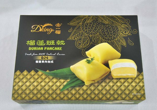 dking cny durian goodies hamper pancake