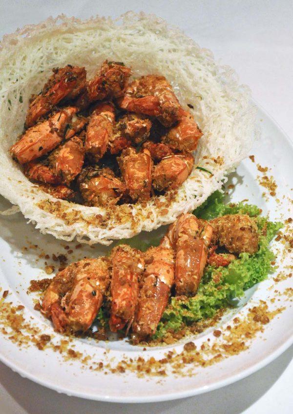 dynasty restaurant renaissance kuala lumpur hotel cny prawn