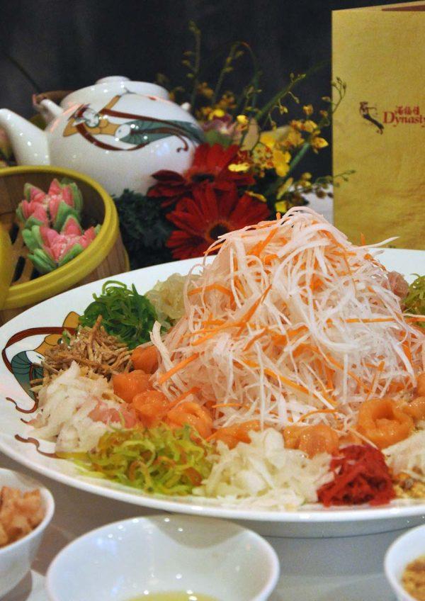 dynasty restaurant renaissance kuala lumpur hotel cny yee sang