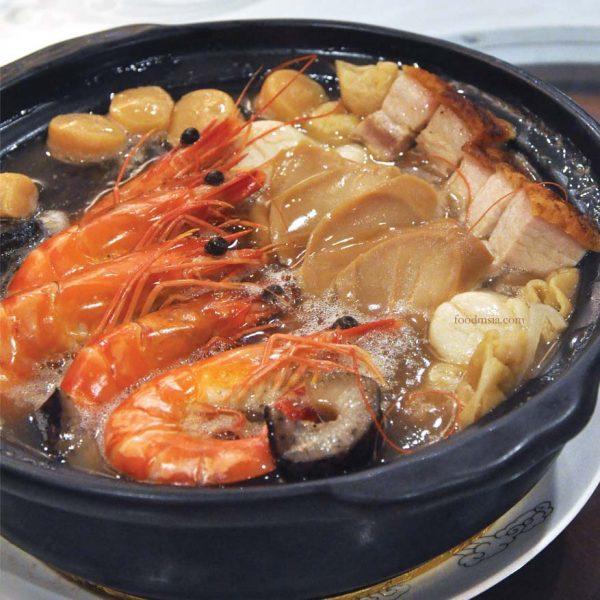 dynasty restaurant renaissance kuala lumpur hotel cny treasure pot