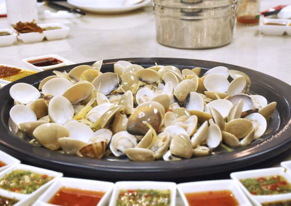 kungfu steam seafood restaurant bandar puteri puchong cny clam