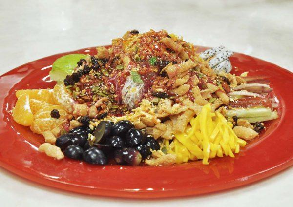 kungfu steam seafood restaurant bandar puteri puchong cny fruity yee sang