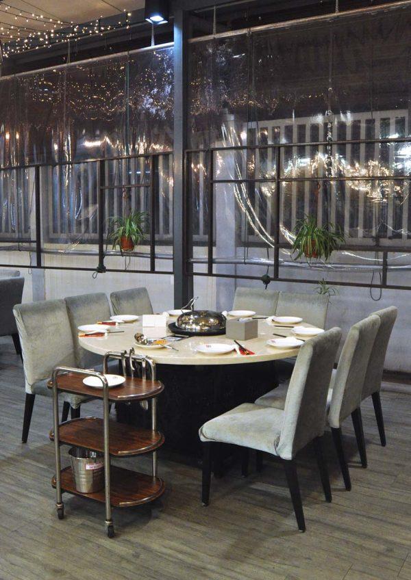 kungfu steam seafood restaurant bandar puteri puchong cny interior