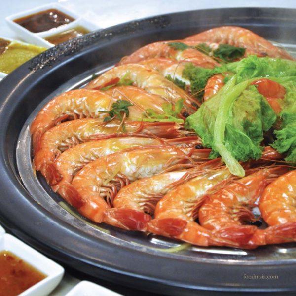 Fresh Seafood Chinese New Year Menu @ KungFu Steam