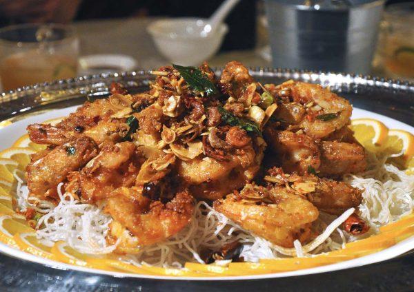 lai ching yuen grand millennium kuala lumpur cny prawn