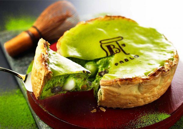 pablo cheese tart malaysia matcha cheese tart
