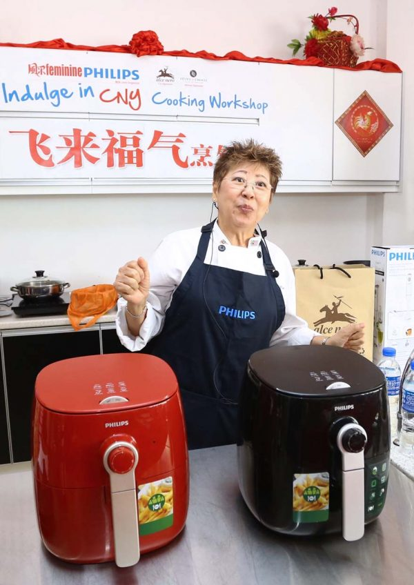 philips malaysia airfryer turbostar indulge in cny cooking workshop chef amy beh