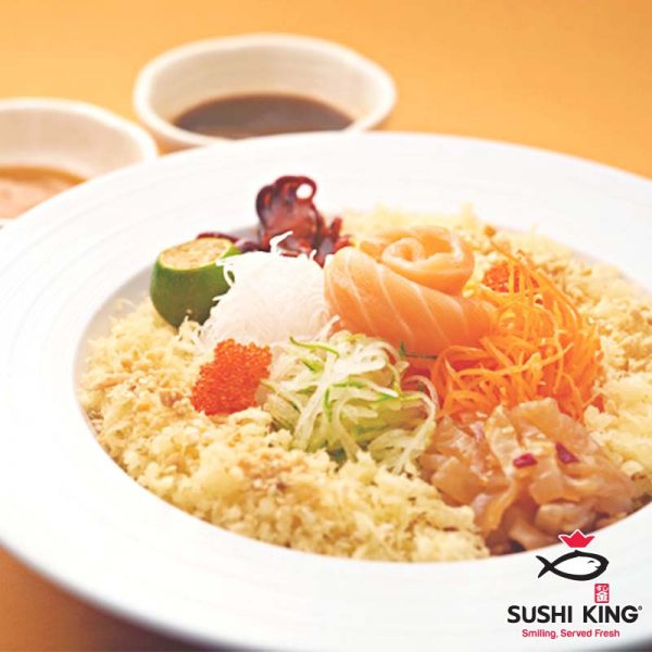 sushi king japanese restaurant chinese new year yee sang