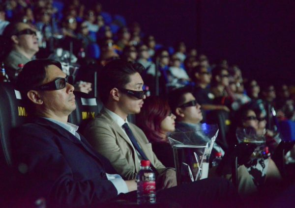 tgv sunway velocity largest imax screen cinema goers