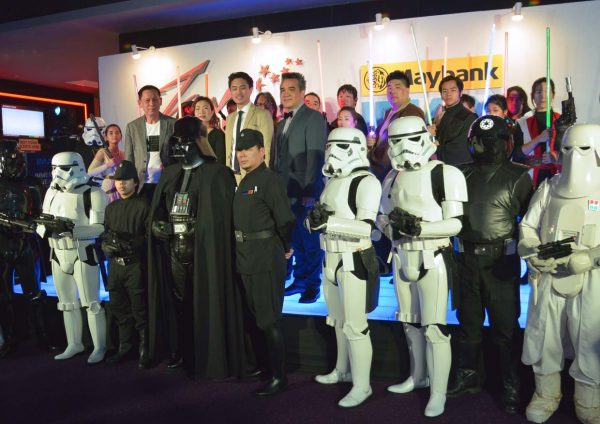 tgv sunway velocity largest imax screen star wars rogue one fans club