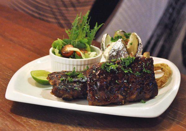 the eighth avenue publika kuala lumpur fusion cuisine beer marinated pork ribs
