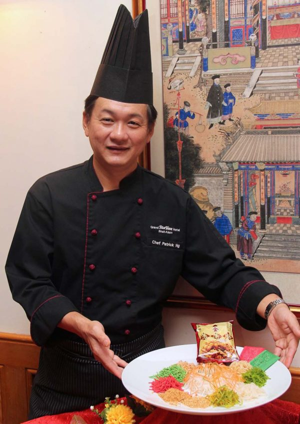 tung yuen grand blueWave hotel shah alam chinese new year 2017 chef patrick ng