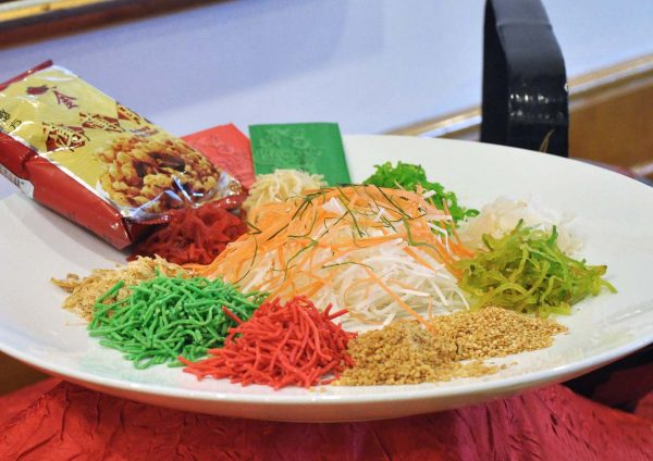 tung yuen grand blueWave hotel shah alam chinese new year 2017 yee sang